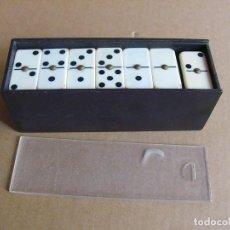 Juegos de mesa: JUEGO DE MESA DOMINO CLASICO (COMPLETO) 28 FICHAS. Lote 161965416
