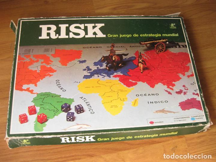 Juego Del Risk De Borras Con Instrucciones An Comprar Juegos De