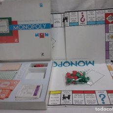 Juegos de mesa: ANTIGUO JUEGO MONOPOLY DE BORRAS . Lote 93282325
