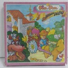 Juegos de mesa: CUIDADO CON EL LOBO PIN Y PON -CEFA 1989-PRECINTADO. Lote 93723590