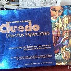 Juegos de mesa: CLUEDO EFECTOS ESPECIALES. Lote 93928145