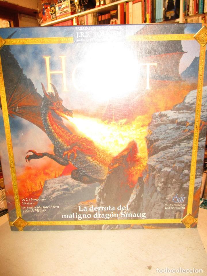 Juegos de mesa: EL HOBBIT-TOLKIEN-LA DERROTA DEL MALIGNO DRAGON SMAUG-NUEVO SIN ABRIR-DEVIR JUEGOS - Foto 2 - 94038855