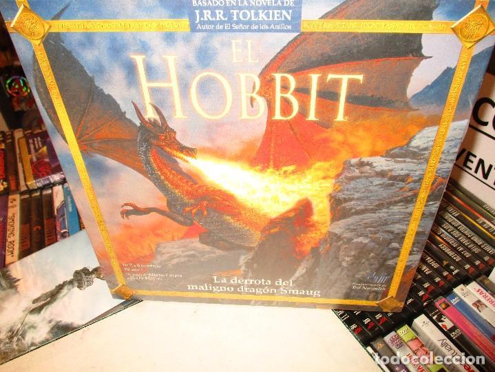 Juegos de mesa: EL HOBBIT-TOLKIEN-LA DERROTA DEL MALIGNO DRAGON SMAUG-NUEVO SIN ABRIR-DEVIR JUEGOS - Foto 3 - 94038855