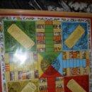 Juegos de mesa: TABLERO PARCHIS FALLAS, LIT.AÑON,VALENCIA 1961/1975, 45X45 CMS.ENMARCADO.. Lote 94040510