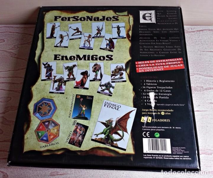 Juego De Rol Y Estrategia Las Siete 7 Puertas R Comprar Juegos De