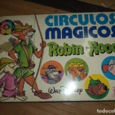 Juegos de mesa: CÍRCULOS MÁGICOS - ROBIN HOOD.FOURNIER 1974.WALT DISNEY.JUEGO DE MESA.. Lote 94302678