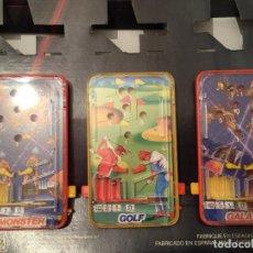 Juegos de mesa: LOTE DE 3 PIN BALL DE MESA OBERTOYS A ESTRENAR ESPAÑA IBI ALICANTE AÑOS 80. Lote 94413450