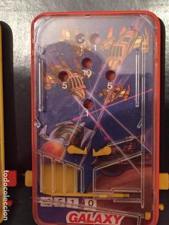 Juegos de mesa: Lote de 3 pin ball de mesa Obertoys A estrenar ESPAÑA IBI ALICANTE AÑOS 80 - Foto 2 - 94413450