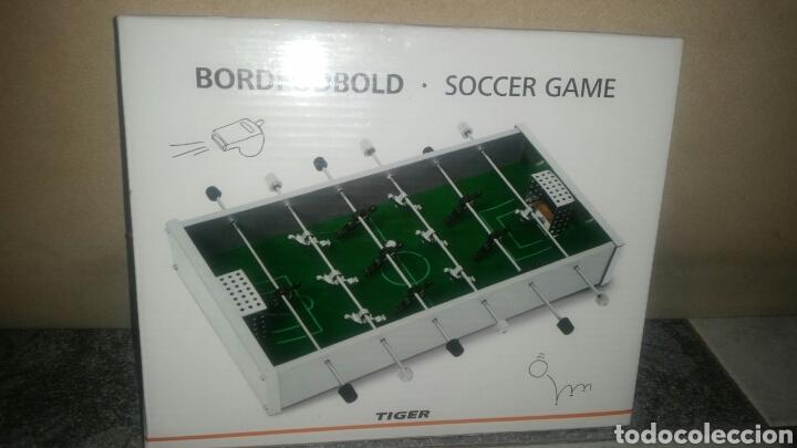 Juego De Mesa Futbolin Tiger Comprar Juegos De Mesa Antiguos En