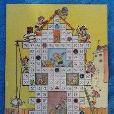 Juegos de mesa: GEYPER, AÑOS 50. JUEGO DE MESA IMPRESO SOBRE CARTON. Lote 94623307