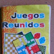 Juegos de mesa: JUEGOS REUNIDOS GEYPER REGLAMENTO REGLAMENTOS . Lote 94643195