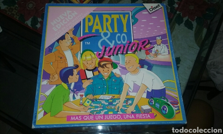 Juego De Mesa Party Co Junior Comprar Juegos De Mesa Antiguos En