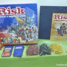 Juegos de mesa: JUEGO RISK EL JUEGO DE LA CONQUISTA DEL MUNDO. PARKER 2006. 2-4 JUGADORES. MUY BUEN ESTADO. Lote 94744435