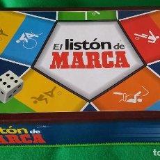 Juegos de mesa: EL LISTON DE MARCA – JUEGO TIPO TRIVIAL. Lote 94871691