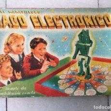 Juegos de mesa: EL MARAVILLOSO MAGO ELECTRÓNICO. AÑOS 50. 1A EDICIÓN.. Lote 95336887