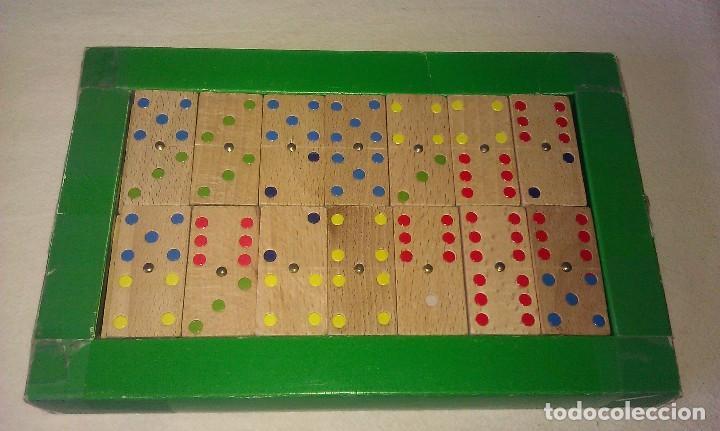 Antiguo Juego Domino De Madera De Haya Hecho A Comprar Juegos De
