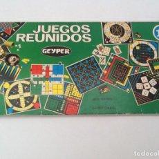 Juegos de mesa: JUEGOS REUNIDOS GEYPER JUEGO DE MESA. Lote 95428295