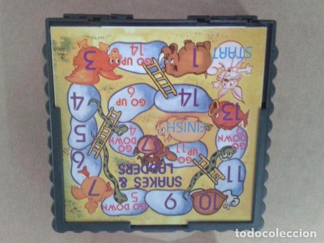 Juegos de mesa: JUEGOS MACNETICOS DOS EN UNO - ROBOT GAME - SNAKES & LADDERS - Foto 4 - 95546391