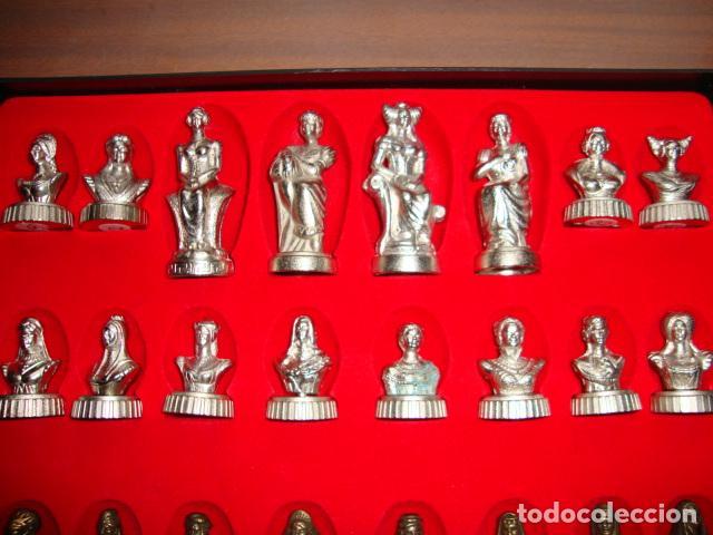 Juegos de mesa: BONITA CAJA TABLERO CON JUEGO DE AJEDREZ O DAMAS - Foto 5 - 45868814
