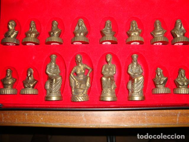 Juegos de mesa: BONITA CAJA TABLERO CON JUEGO DE AJEDREZ O DAMAS - Foto 6 - 45868814