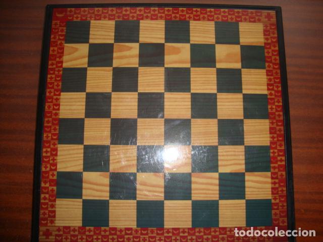 Juegos de mesa: BONITA CAJA TABLERO CON JUEGO DE AJEDREZ O DAMAS - Foto 7 - 45868814