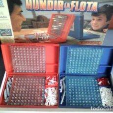 Juegos de mesa: JUEGO ORIGINAL HUNDIR LA FLOTA MB AÑOS 80 COMPLETO. Lote 95560591