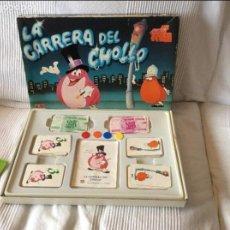 Juegos de mesa: LA CARRERA DEL CHOLLO ..JUEGO EDUCATIVO DALMAU. Lote 95612531