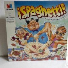 Juegos de mesa: JUEGO SPAGHETTI MB ESPAÑA 1990-PRECINTADO. Lote 96407283