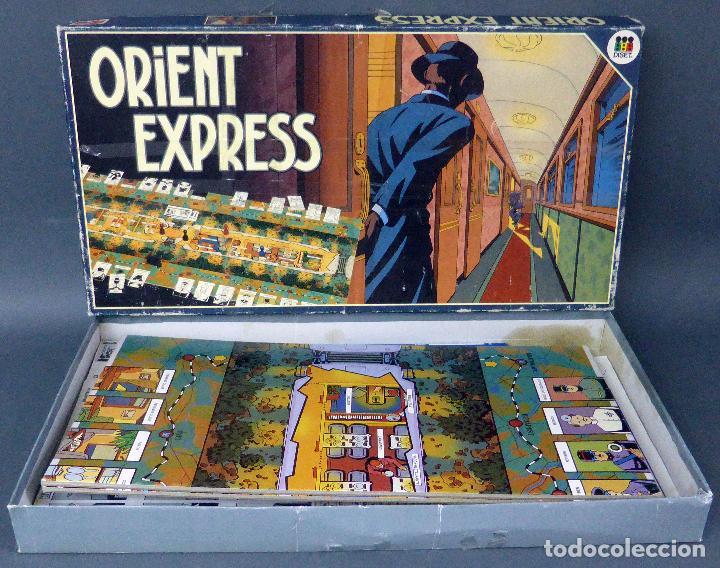 Orient Express Juego Mesa Jumbo Diset Anos 80 C Comprar Juegos De