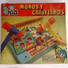 Juegos de mesa: MOROS Y CRISTIANOS - JUEGO DE MESA DE JUGUETES FEBER. HECHO EN ESPAÑA.. Lote 96549731