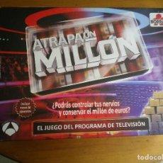 Juegos de mesa: ATRAPA UN MILLON. Lote 96757459