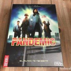 Juegos de mesa: JUEGO DE MESA PANDEMIC - DEVIR - PRECINTADO - Z-MAN GAMES. Lote 96850127