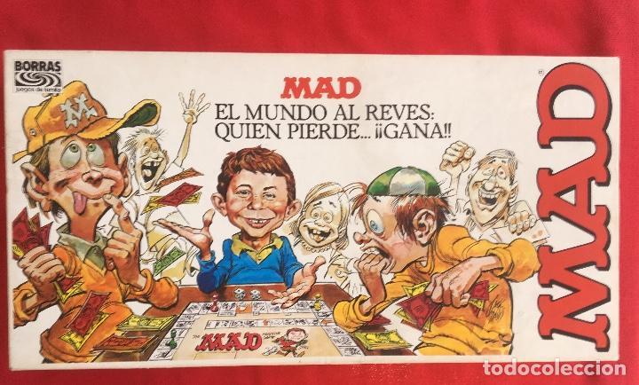 Mad El Mundo Al Reves Juego De Mesa Borras Dive Comprar Juegos De