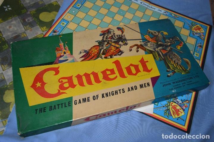 Camelot Antiguo Juego De Mesa Ingles Origina Comprar Juegos De