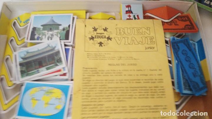 Juegos de mesa: antiguo juego de mesa de educa buen viaje - Foto 3 - 234443505