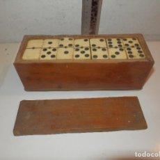 Juegos de mesa: ANTIGUO DOMINO PRINCIPIOS DE SIGLO HUESO O MARFIL. Lote 203551741