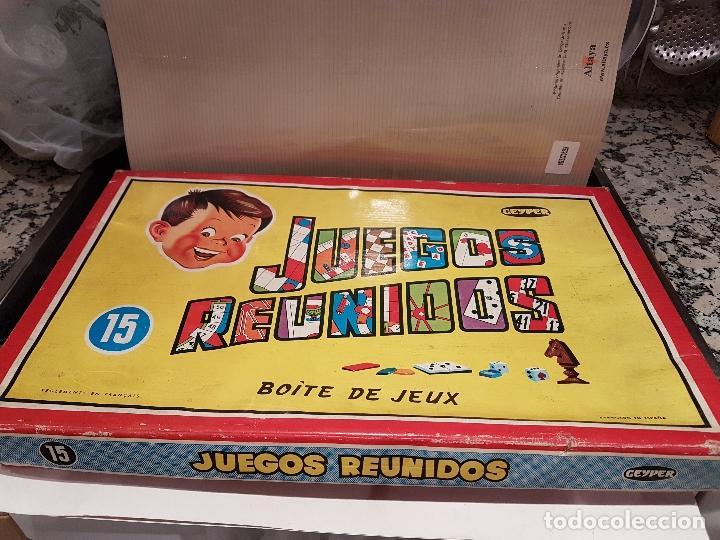 Antiguo Juegos Reunidos Geyper Numero 15 Ver Fo Comprar Juegos De