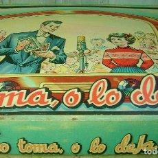Juegos de mesa: LO TOMA O LO DEJA, JUGUETES BORRÁS. Lote 97408187