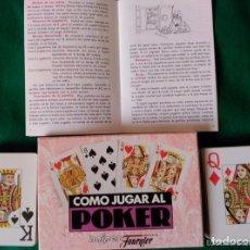 Juegos de mesa: LIBRITO CON EL REGLAMENTO + DOS BARAJAS . Lote 97664791