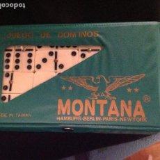 Juegos de mesa: JUEGO DE DOMINO MONTANA,FICHAS DE BAQUELITA.AÑOS 70. Lote 97729251