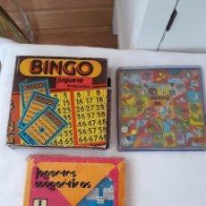 Juegos de mesa: LOTE DE 3 JUEGOS MAGNETICOS RIMA. Lote 98137899
