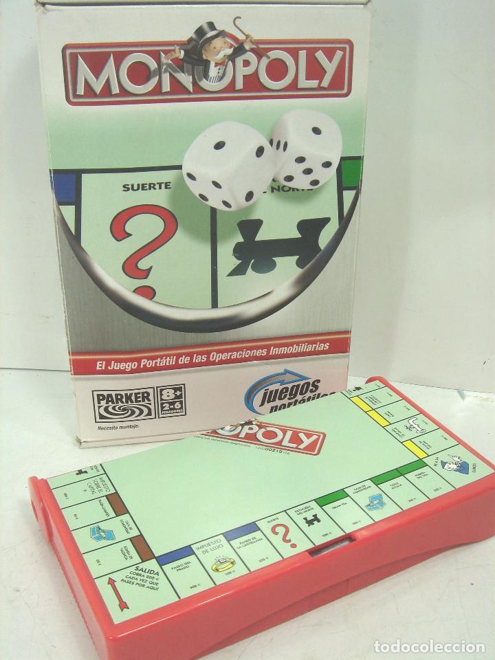 Juego Monopoly Juego Viaje Parker Hasbro An Comprar Juegos De