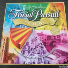 Juegos de mesa: TRIVIAL PURSUIT CATALUNYA - EDICIÓN RETIRADA DE LA VENTA POR CUESTIONES POLITICAS (2007) - CATALUÑA. Lote 98436448