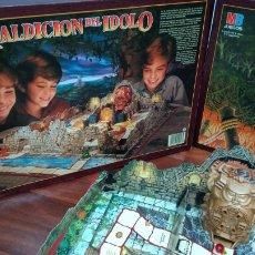 Juegos de mesa: MALDICIÓN DEL IDOLO. Lote 98598663