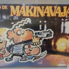 Juegos de mesa: EL JUEGO DE MAKINAVAJA. IVA. NUEVO EN CAJA. PRECINTADO. FACTOR GAMES. MAKI NAVAJA. . Lote 98616938