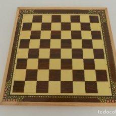 Juegos de mesa: TABLERO DE AJEDREZ. MARCA HIJOS DE J. DOMENECH. ORIGINAL AÑOS 80. NUEVO, A ESTRENAR!. Lote 98856159