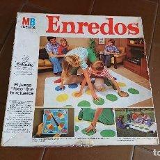 Juegos de mesa: JUEGO VINTAGE, ENREDOS DE MB, COMPLETO . Lote 98921831