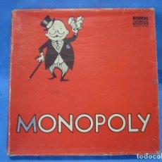Juegos de mesa: ANTIGUO JUEGO DE MONOPOLY DE BORRAS . Lote 99018599