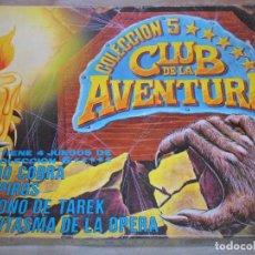 Juegos de mesa: REINO COBRA- VAMPIROS- EL TRONO DE TAREK- FANTASMA DE LA OPERA- CLUB AVENTURA CON 4 JUEGOS D MESA, . Lote 99082799