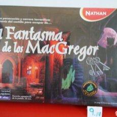 Jogos de mesa: JUEGO EL FANTASMA DE LOS MAC GREGOR.NATHAN 1999.NUEVO EN CAJA RETRACTILADA FÁBRICA.. Lote 209700500